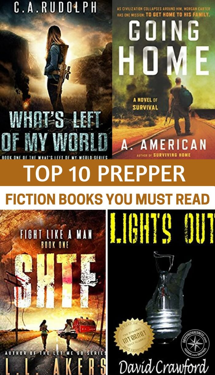 Top 10 Prepper Fiction Books You Must Read - This is a great article about fiction that has been written in the prepper genre and what you can enjoy. Even if you are not taking time to read prepper fiction today it could be something you get into. Through the cold winter there are few options for entertainment. To me there is nothing like sitting next to the fire with a good book.