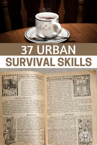 37 Urban Survival Skills - While many of this listicle style articles can be a bit dry or redundant, its safe to say that in nearly 40 skills you are going to see something that you didn't know before.