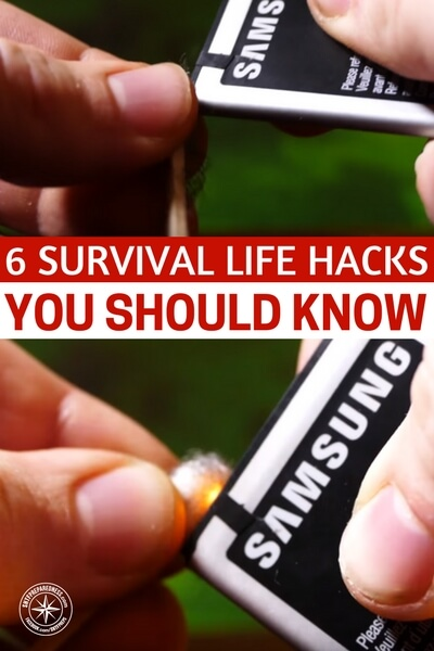 6 Survival Life Hacks YOU SHOULD KNOW - This video presents you with 6 survival hacks that will change the way you look at your survival approach. These things take some up front time but that is all. Once you make the preparations you will have something special. Please, in the comments below, share your very best survival hack. I am sure we could get a powerful list going.