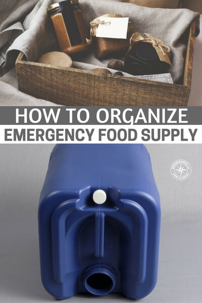 How to Organize Emergency Food Supply - This is an article about organization. One of the best things about organizing preps is that it will magically make space appear. You will see space free up and be astounded. This is very important in all of this. The more space you have the more you can prep. I know lots of people don't like the thought of cleaning and organizing but its something that can make you a more effective prepper.