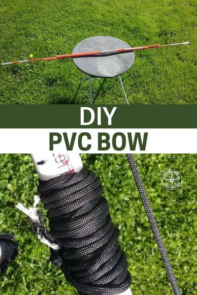 DIY PVC Bow - This build is pretty simple but there is a detail that you have to know if you are planning on making a bow that has any kind of power. While a simple PVC based bow may fire a projectile its not likely to be the survival tool you hoped it would be. Be warned.