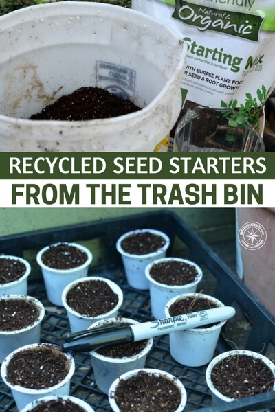 Recycled Seed Starters From the Trash Bin - Of course, there is a consideration that must be made. Where are you going to sprout all of your seeds. I have used all sorts of things to sprout my seeds in. This is an article about the various seed starters that you can upcycle. There is something nice about sprouting seeds in recycled containers.
