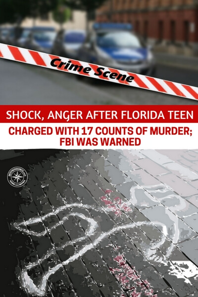 Shock, Anger After Florida Teen Charged With 17 Counts Of Murder; FBI Was Warned - Before we can begin to stop shootings like these I think its vital that we answer these three questions. What do you think about this. How would you stop these shootings from happening? More importantly, are you one of the many people who are starting to consider gun control?
