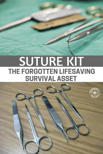 Suture Kit – The Forgotten Lifesaving Survival Asset - This article is a great look at several suture kits. Suture kits are like body armor. No prepper really wants to buy them because its the admission that you may need both. No one wants to get shot at and no one wants to get a wound sutured but you better be prepared.
