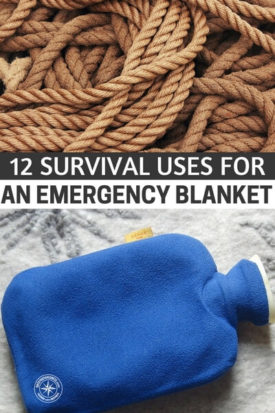 12 Survival Uses For An Emergency Blanket - An emergency blanket is also known as the space blanket, as it was developed by NASA. How would you react now if you come to know that a space blanket is lightweight, costs less, and take up only a little space in your bug out bag or survival kit? Adding to your curiosity, this blanket comes with more benefits or uses than only keeping you and others warm.