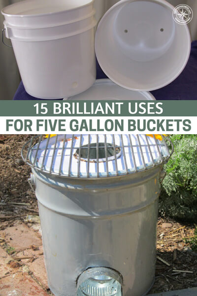 15 Brilliant Uses for Five Gallon Buckets - And the best thing about them: You can get them for free! Just visit local restaurants, bakeries, grocery stores, and other places and start chatting up the workers. Oftentimes they'll just give you their used buckets since they were going to throw them out anyway.