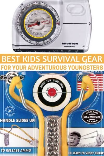 Best Kids Survival Gear for Your Adventurous Youngsters - This article offers up lots of gear that can be used to get those kids off the couch and out into the wild. Gear is actually a very good way to get the kids back in the game!