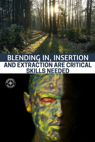 Blending In, Insertion and Extraction Are Critical Skills Needed - This article is a great collection of knowledge and skills that can help you out in all sorts of ways. You will find that these could best help in an urban survival situation.