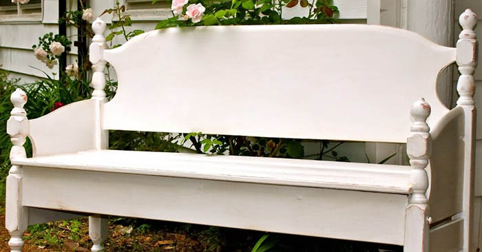 Build a Garden Bench from a Bed - This is a very thoughtful little build that can be used to prepare something that you will love. Though it is labeled as a garden bench from a bed, using a baby's crib comes to mind as well. this would be a great way for people to enjoy an important piece of furniture that holds so many memories.