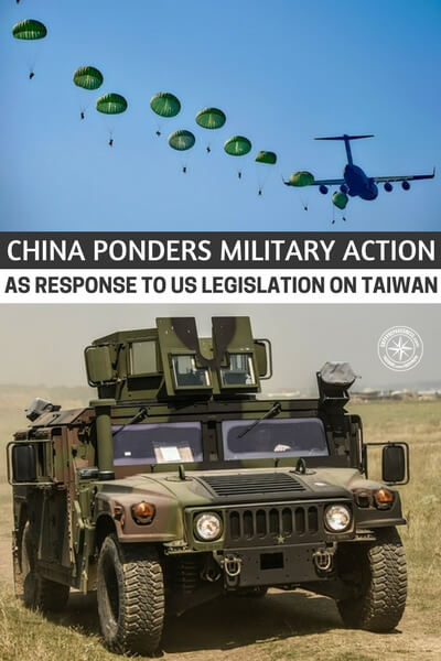 China Ponders MILITARY ACTION As Response To US Legislation On Taiwan - Well, consider what it could mean to have a major city or many major cities attacked. Consider the effects of something like an EMP attack on the central part of the nation or even over a place like Manhattan. At the end of the day, your ability to protect yourself will always be what's most important. Keep honing that edge.
