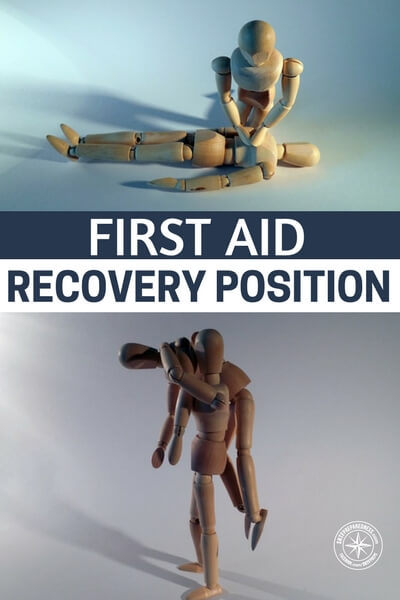 First Aid Recovery Position - This article focuses on the recovery position. This is a very important basic part of the first aid training process. Its a very important and simple position that can change the game in a first aid situation. What first aid training are you doing to prepare yourself. Do you participate in CERT? If not, let us know where you go for first aid training.