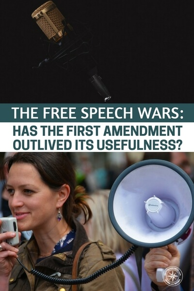 first amendment and free speech This era of political discontent has seemingly made us all experts on the first  amendment and freedom of speech or at least, there's a lot of.