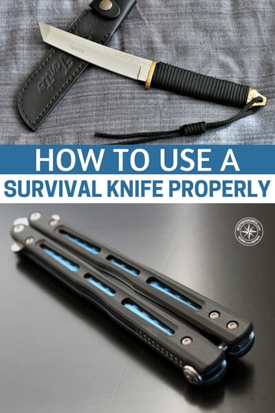 How To Use A Survival Knife Properly - This article explores the various ways to use a survival knife properly. Its an interesting concept. While not the most complicated thing, it can interesting when you consider how not to use a survival knife.