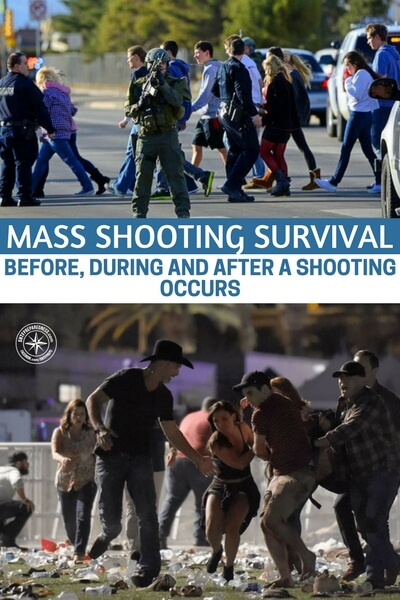 Mass Shooting Survival – Before, During And After A Shooting Occurs - This is an article that will help you understand where to start with training and what you need to be prepared for this journey. You really need start preparing for how to react when things like this happen. Unless you plan on being a victim.