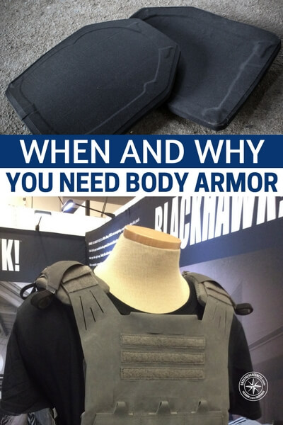 When and Why You Need Body Armor - All that said, there is the consideration of body armor for the average civilian. What does that mean? Are you carrying an EDC bag? Well, would it hurt to have a slab of ballistic shielding inside? I think not. You could chalk the extra weight up to, uh, fitness training. We all need more of that. Read this one, you will like it.
