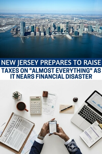 "New Jersey Prepares To Raise Taxes On ""Almost Everything"" As It Nears Financial Disaster - This article is likely about one of the next big states to take the fall. The taxes in New Jersey are already out of hand and the state is spiraling out of control. This should be an eye opening scenario to all state governments around the world. We are seeing state level collapse starting to take hold in America."