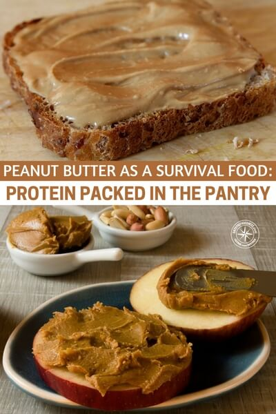 Peanut Butter as a Survival Food: Protein Packed in the Pantry - One of the best survival foods is widely available and probably already in your pantry! Peanut butter is an excellent and nutritious way to stay fed during an emergency, disaster, or SHTF. It has plenty of nutrients and protein to carry you over for short periods, or it can supplement a long-term food storage supply.
