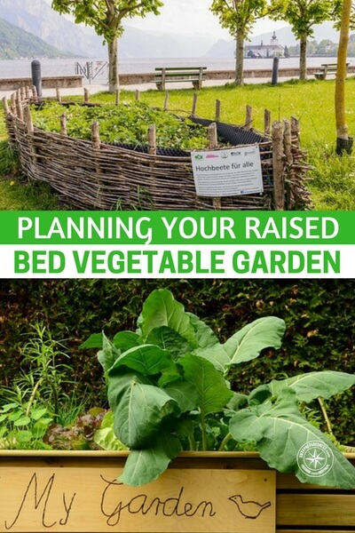 Planning Your Raised Bed Vegetable Garden - Taking care of a raised bed is easy. Because your raised garden is contained, you can better plan what to grow, weeding can be done a lot more comfortably, drainage is good, and you can control pests better too.