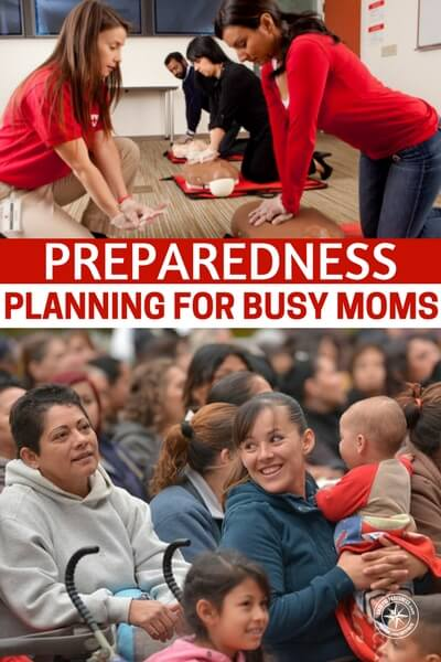 Preparedness Planning for Busy Moms - This article is written by a woman for women. Prepper planning for busy moms, to be exact. Planning is so important. There is one constant when it comes to prepping, it requires planning. It takes time and effort as well. The only way our busy lifestyles can include disaster preparedness is if we force some of that time in there.