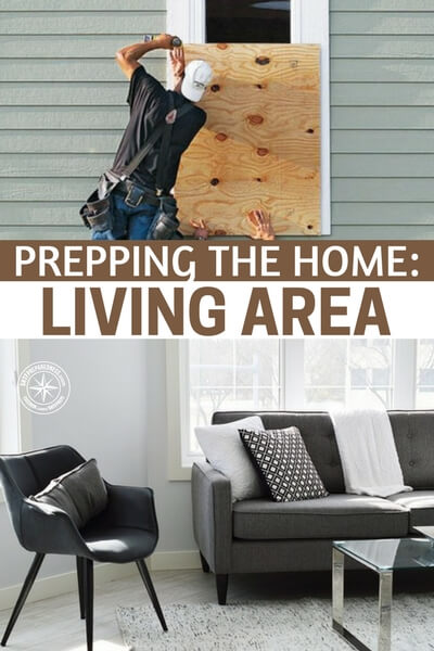 Prepping the Home: Living Area - A family's living room is a sanctuary for bonding, the place where memories are made. In the event of a natural disaster, you want to do everything you can to protect your entire home, but let's focus on the main living area.