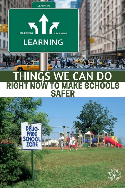 Things We Can Do RIGHT NOW to Make Schools Safer - This is an article that talks about what can be done, right now, to make schools safer. These are ideas that many people would discredit but they will have an effect. We must always remember that we are dealing with broken and evil people who do these types of things.