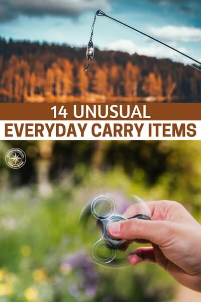 14 Unusual Everyday Carry Items - This article will open your eyes to what's possible with the EDC. That is because it presents 14 unusual everyday carry items. You may have a different outlook on what you can carry after you read this article.