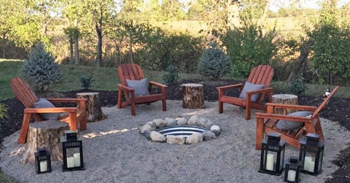 3 great diy projects to create a beautiful low cost for Cost of outdoor living space