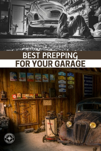 Best Prepping for Your Garage - Being a prepper is hard work, but with what's happening in the world today, you'll want to be prepared if something drastic happens. Your garage is a great survival space, if not just for storage, and it falls upon you to get it ready for anything at any time. If you're just starting out prepping, the above information can help, but there is still a long way to go. But, the garage is a great place to start!