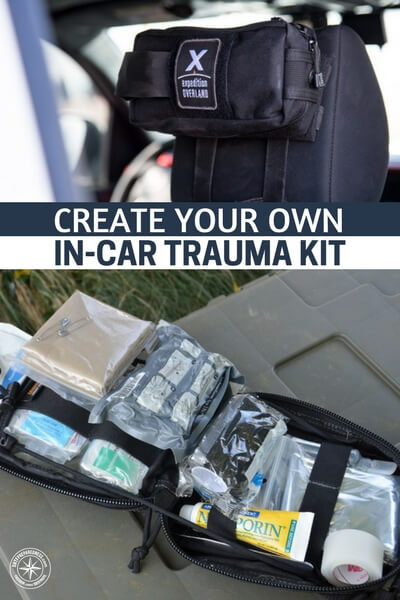 Create your Own In-Car Trauma Kit - If you have the tools you need to do this it will make a big difference. If you don't, you will not be able to help those around you. This article will teach you how to create a powerful trauma kit for your vehicle so that you can respond when the time comes.