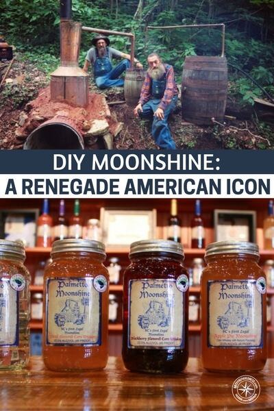 DIY Moonshine: A Renegade American Icon - Moonshine has a been a de-facto currency in the United States since its inception. That tradition continues on today, speaking to moonshine's ability to represent deep American values.