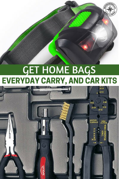 Get Home Bags, Everyday Carry, and Car Kits - This is a great article and podcast on the topics. You will get a first hand view of what it takes to build a serious set of bags, kits and how to enhance your EDC in a way that will make you feel like you are getting somewhere in the preparedness game.