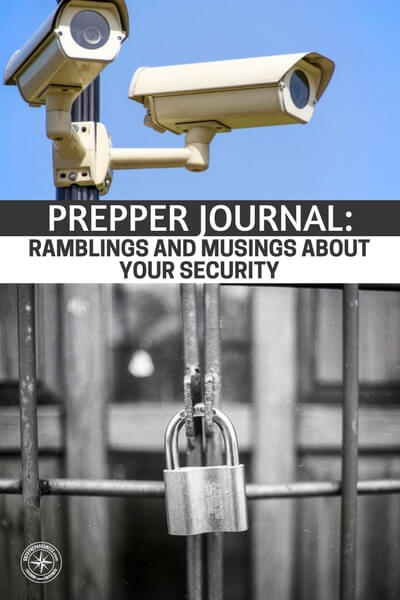 Prepper Journal: Ramblings and Musings About Your Security - Have you considered your own personal security. Are you prepared to react if someone approach's you or your family? As we speak there are hordes of illegal immigrants making their way into our nation and they are not all here to be Americans. Some are here to hurt and kill and rob.