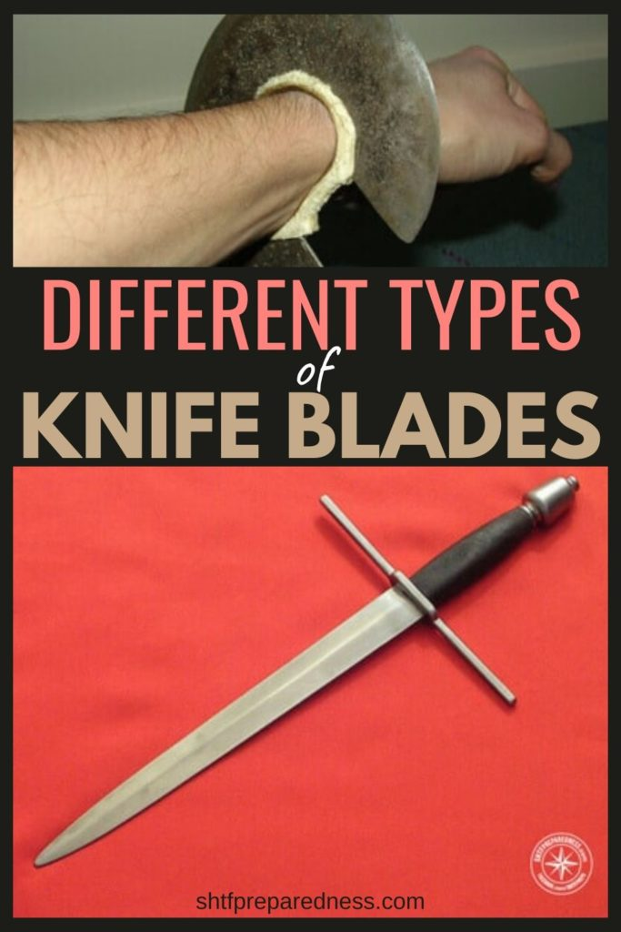 Different types of knife blades