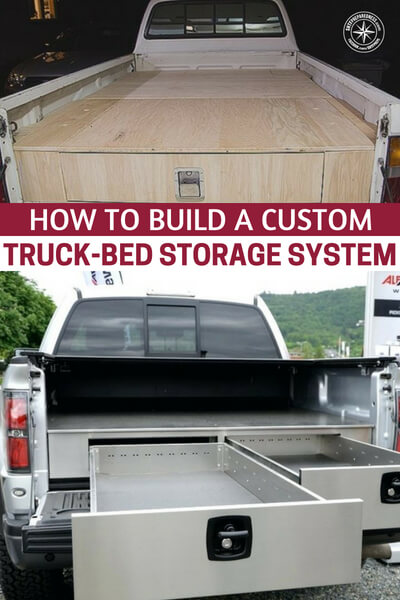 How to Build a Custom Truck-Bed Storage System - This is an article about how to build a custom truck bed storage system. You will love this if you are a truck driver. Of course, you will be carrying more weight and that equals more gas, but you will also be able to really change how you travel and what you do.