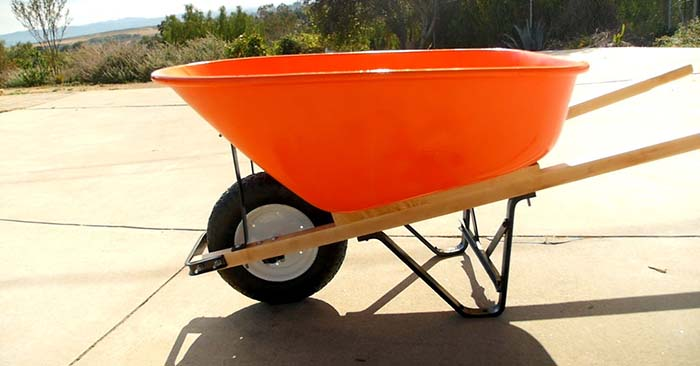 How to Restore an Old Wheelbarrow - This is an article about restoring one of the most important tools for taking care of a landscape or a garden.