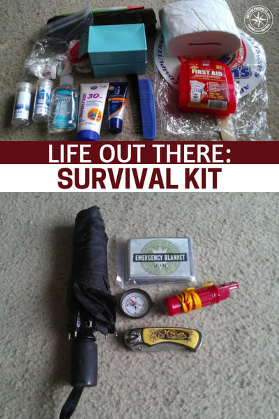 Life Out There: Survival Kit - We are all limited by our bags and by how much we can fit on our backs. This means we have to be very smart and very efficient with what goes into the bag. This instructable has it down and it looks like a great blue print to follow or at least to pull pieces from.