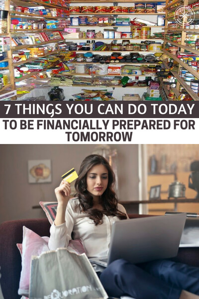 7 Things You Can Do Today to Be Financially Prepared for Tomorrow - This is a great article about 7things that you can do to be financially prepared for tomorrow. These steps will seem like small efforts in the beginning but they will add up over the years.