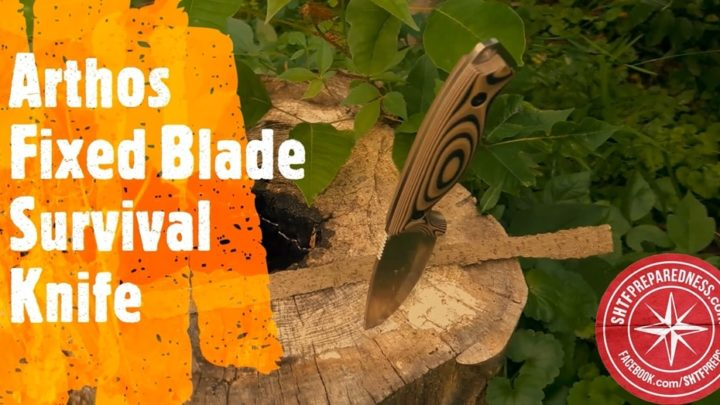 Arthos Fixed Blade Survival Knife Review