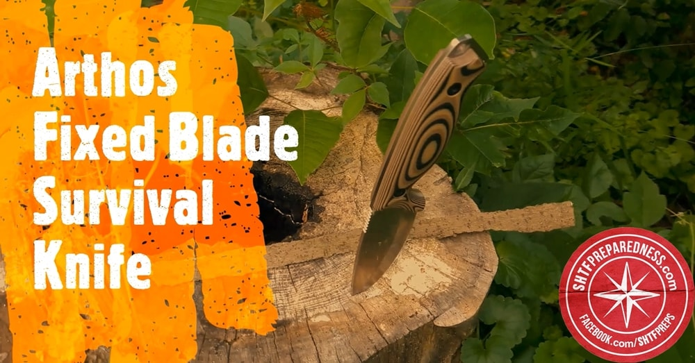 Arthos Fixed Blade Survival Knife Review Thumbnail