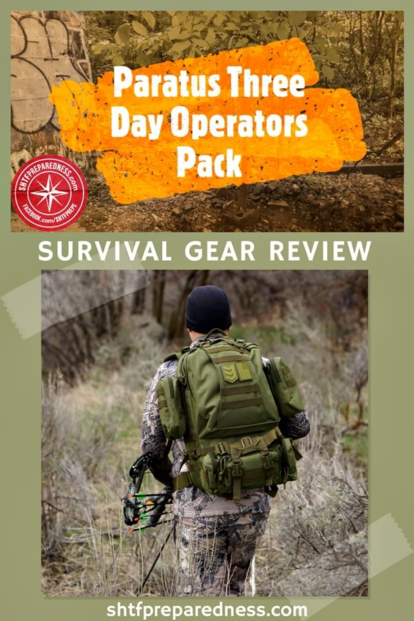 Paratus Three Day Operators Pack by 3V Gear Review