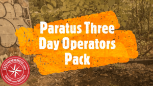 The Paratus Three Day Operator's Pack stands out from all other bug out bags due to it's efficiency, space and affordable price.