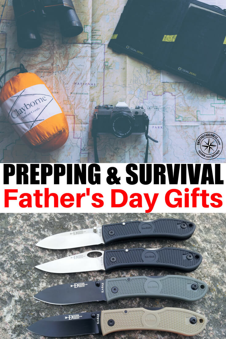 20 Great Prepping/Survival Father's Day Gifts For The Dad in Your Life! -- Just around the corner is the one day  a year that we all take a moment and thank Dad for all he does. If you were lucky enough to have a good Father, you probably look forward to this day each year.