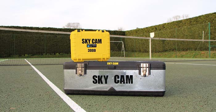SKY CAM an Aerial Camera Solution - What about building your own SKYCAM and having something like this to let loose when you need intelligence. It doesn't just end there. You could also use a gadget like this when you are bugging out to know what waits for you over that next hill.