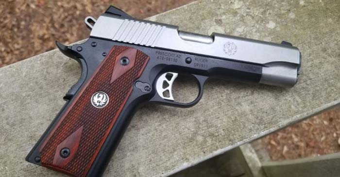 Hands On: Ruger SR1911 Lightweight Commander 45ACP - The firearm that's profiled in this article is a very popular one so that means you are going to likely be able to find parts and you will also be able to find ammo because the .45 ACP is a very popular round as well as a military round. There is much to consider with guns in a collapse.