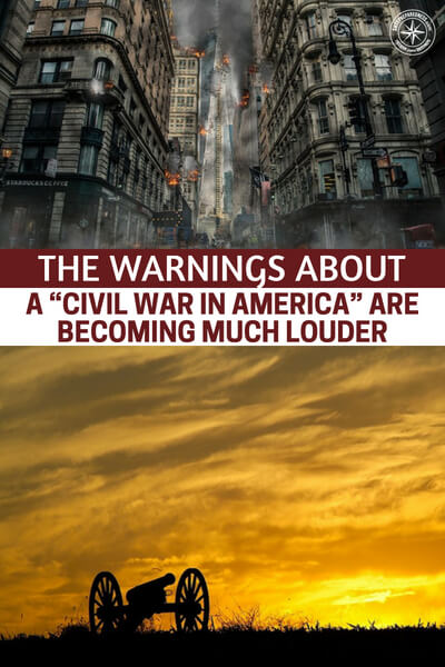 """Here It Comes – The Warnings About A """"Civil War In America"""" Are Becoming Much Louder - Still, we must be honest about the times and what could come. Are you prepared to handle a rash of riots in your town? It could get bad fasts and if you read this article you will get a better understanding of what is coming for us. Buckle up and hold on tight."""