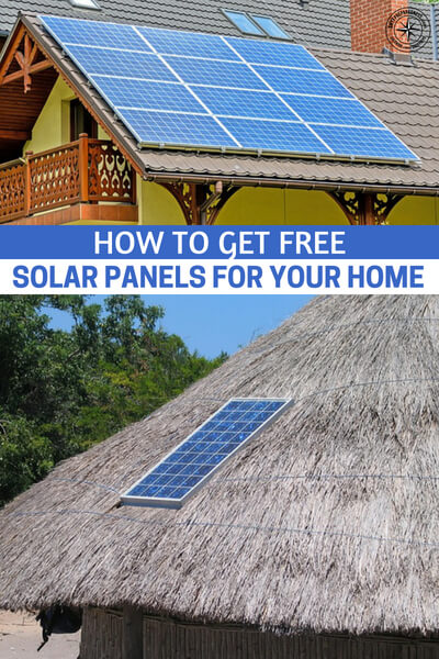 How to Get Free Solar Panels for Your Home - Technological advancements had laid out possibilities on alternative energy sources as more people become aware of the planet's depleting fossil fuels. Solar energy is among the popular choices with its clean and infinite energy source. Solar power systems and solar panels are appearing on the roofs of more and more houses these days as homeowners are increasingly looking for ways to save money and reduce their carbon footprint.