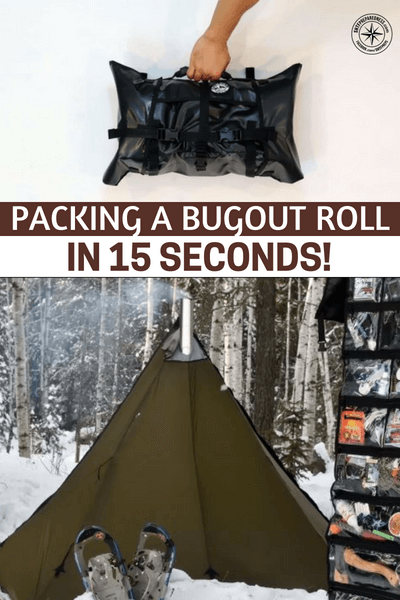 Packing a Bugout Roll in 15 seconds! - This is a small article and video about the bug out roll. This roll will go right into your pack and you can organize it any way that you see fit.