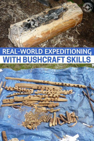 Real-World Expeditioning With Bushcraft Skills - This bit called real world expeditioning with bushcraft skills is a video presentation that is over 30 minutes long. Its coming to you completely free and right from the website.