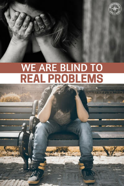 We are Blind to Real Problems - This article is an eye opening look at this subject. Its important that we consider the quality of life and the experience here in America for all people. This is a survival imperative.