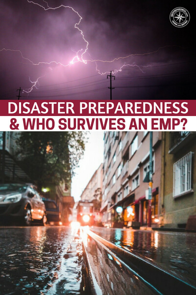Disaster Preparedness & Who Survives an EMP? - This is a great podcast that looks at several things that have to do with the EMP. The guest is an author who has penned a survival story about the EMP. The main character takes a very interesting bugout method and executes it. Beyond the interview there is much more prepping talk as well. Podcasts have so much to offer the survivor.